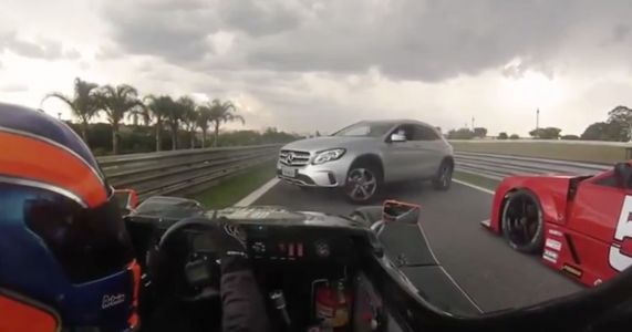 Another Member Of The Public Has Accidentally Driven Onto Interlagos Circuit