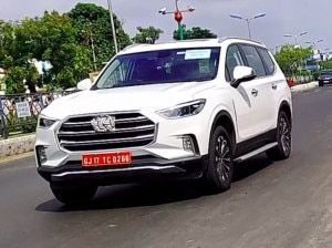 MG Gloster Resumes Testing In India Ford Endeavour Toyota Fortuner Rival India Launch This Festive Season
