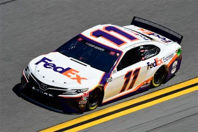Denny Hamlin is 10/1 co-favorite to win 2020 Daytona 500