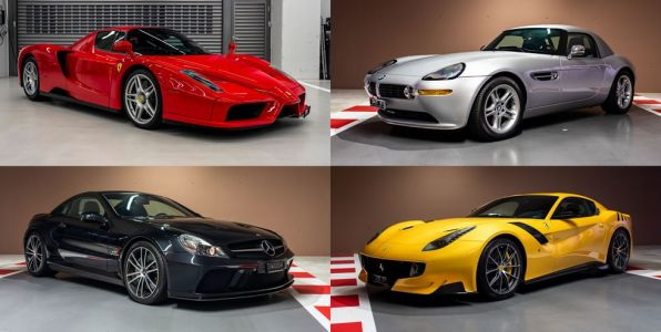 Sebastian Vettel Selling Some Of His Most Exotic Cars