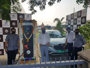 MG Motor and Tata Power Deploy Their First Superfast Charging Station in Nagpur