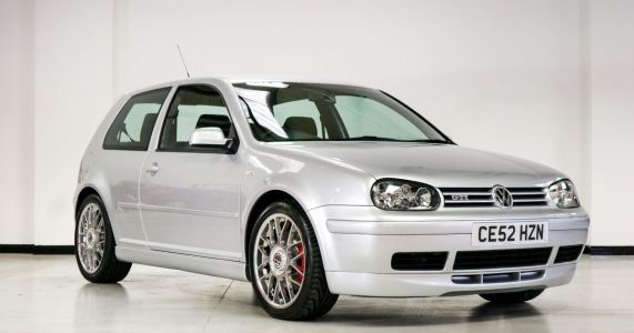 Fancy Buying A VW Golf GTI 25th Anniversary With 8 Miles On The Clock?