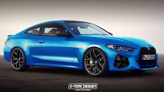 2020 BMW M4 Rendered From New 4 Series Coupé