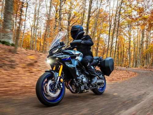 2021 Yamaha Tracer 9 GT First Look Preview Photo Gallery