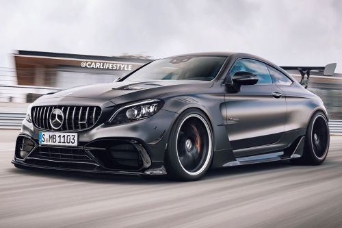 Mercedes-AMG C63 Black Series Gets Angry New Rendering