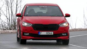 2021 Skoda Fabia Spotted Testing Could Be Launched In India
