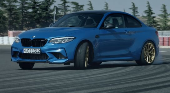 BMW M2 CS Likes To Drift and Kill Tyres