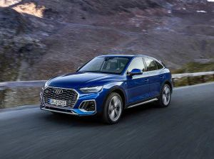 New Audi Q5 Sportback Revealed Based On Second-gen Facelifted Model
