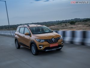 Renault Triber MPV RXZ Variant Gets A Price Hike And 15-inch Wheels In India