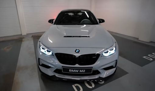 Hockenheim Silver BMW M2 CS Filmed In Detail