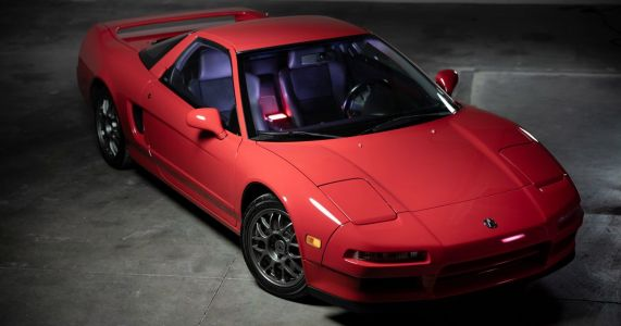Meet The Acura NSX That Sold For $277,000
