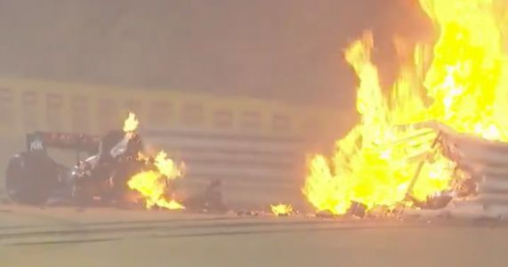 Romain Grosjean's 137mph Bahrain Crash Registered 53G