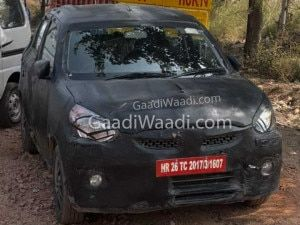 Next-generation Maruti Suzuki Celerio Spied Again In Better Angles India Launch Expected In 2021