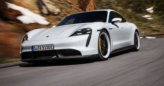 The Porsche Taycan Turbo's Range Is Only 201 Miles According To The EPA