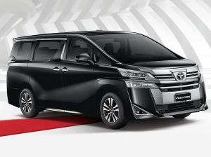 Toyota Vellfire MPV Spied In India Ahead Of 2020 Launch