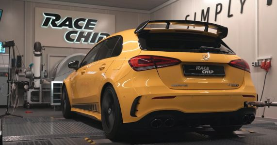 The Mercedes-AMG A45 S Has Been Tuned To Almost 500PS