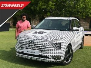 What exactly is the Hyundai Alcazar?   Hands On First Look   ZigWheels.com