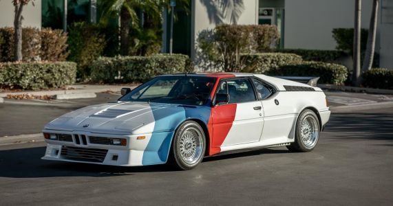 Paul Walker's 350bhp Procar Inspired BMW M1 Is Up For Auction