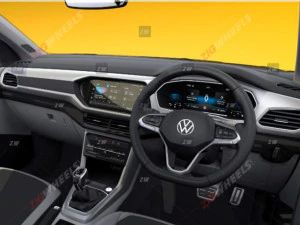 Production-spec Volkswagen Taigun Interior Revealed