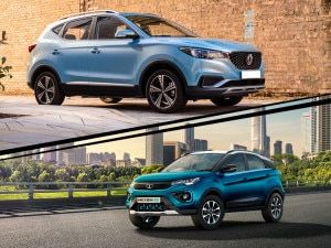 Tata Nexon EV vs MG ZS EV Performance All-electric Range Test Compared
