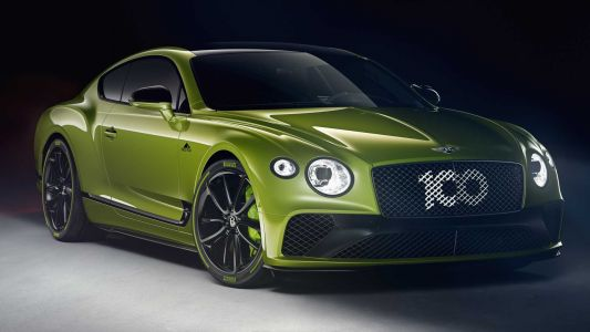 Limited Edition Bentley Continental GT Revealed Celebrating Pikes Peak Record