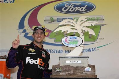 Denny Hamlin is 3/1 to win 2019 Ford Ecoboost 400