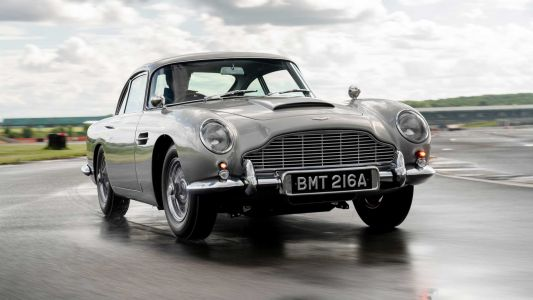 First R60 Million Aston Martin DB5 Goldfinger Continuation Car Completed