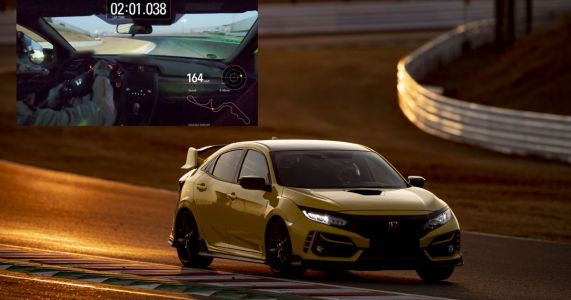 The Honda Civic Type R Limited Edition Is Suzuka's Fastest FWD Car