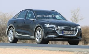 2021 Audi e-tron Sportback Spied Undisguised For The First Time