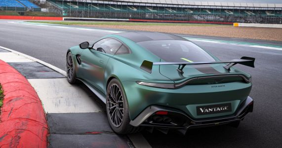 Aston Martin's Vantage F1 Edition Is The Safety Car Without The Lights