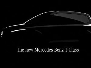 Mercedes-Benz T-Class Teased Cut-size V-Class Coming In 2022