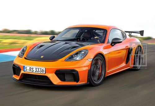 Porsche 718 Cayman GT4 RS Could Push Out As Much As 500 HP