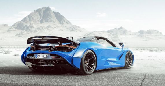 Behold The 800bhp Novitec McLaren 720S Spider And Its Angry Bodywork
