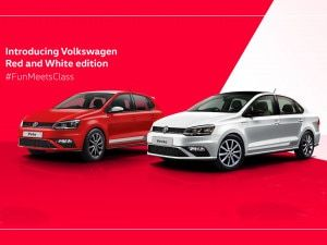 Volkswagen Polo Vento Red And White Editions Launched In India At Rs 919 Lakh And Rs 1149 Lakh Respectively