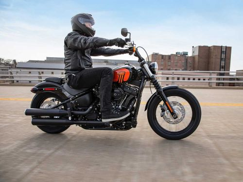 2021 Harley-Davidson Street Bob 114 First Look Preview