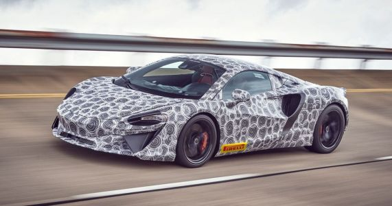 This Is McLaren's New V6 Hybrid Supercar