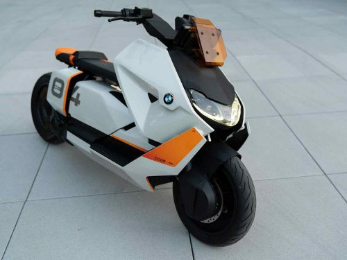 BMW's Futuristic Definition CE 04 Electric Scooter Concept
