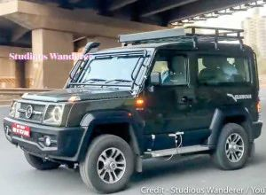 Production-spec Next-gen Force Gurkha Spotted Testing Ahead Of Launch Will Rival Mahindra Thar