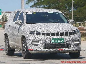 Toyota Fortuner-Rivalling Jeep 7-Seater SUV Spied In Brazil Ahead Of 2022 India Launch