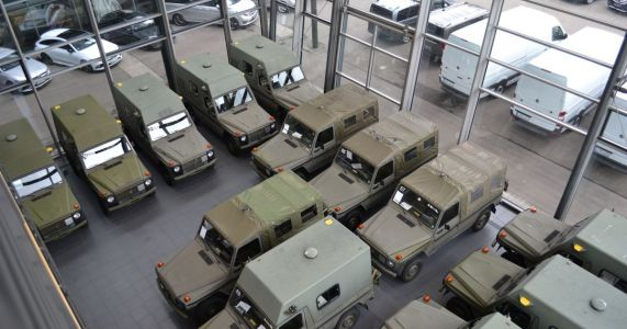 Lorisner Is Selling 37 Ex-Military Mercedes G-Wagens, Starting At £13k
