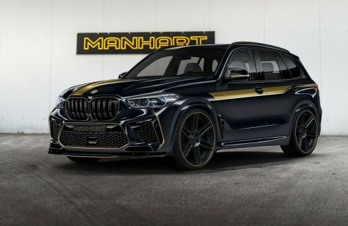 713 HP Manhart BMW X5 M Competition Costs Over R4 Million