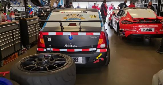 A Heroic Team Finished The Nurburgring 24 Hours In A Dacia Logan