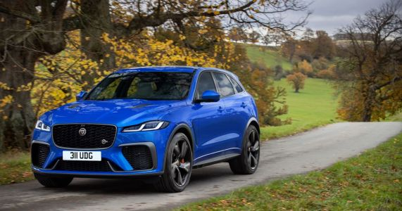 The Jaguar F-Pace SVR Now Does 0-60mph In 3.8 Seconds