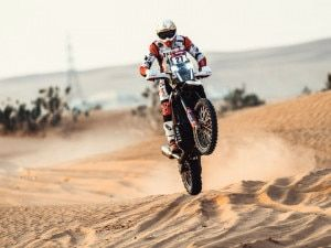 Dakar 2021 Stage 6 Rodrigues Bags Top Ten Finish For Hero MotoSports While Noah Continues Upwards Trajectory