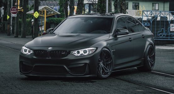Murdered Out BMW M3 Joins The Dark Side, Looks Really Sinister