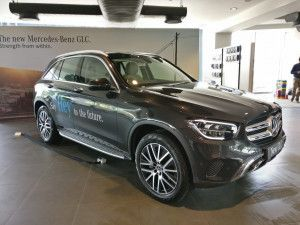 2019 Mercedes-Benz GLC SUV In Pictures