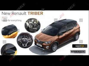 2021 Renault Triber Details Leaked To Get A Dual-Tone Option Additional Features And More
