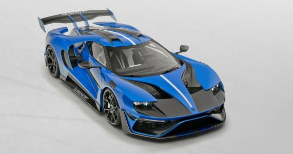 Mansory Has Modified The Ford GT And There's A Lot Going On