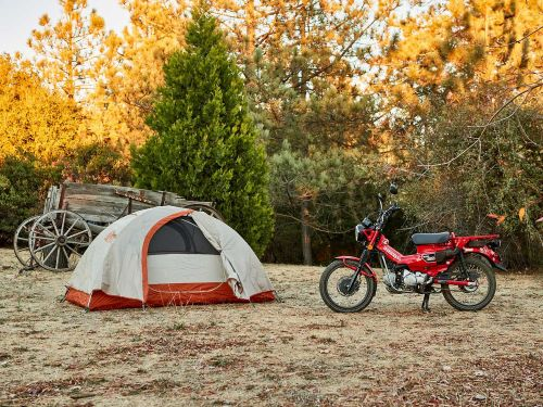 2021 Honda Trail 125 ABS First Ride Review Photo Gallery