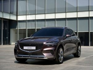 Genesis GV70 Luxury SUV Breaks Cover
